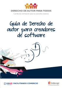 Guía de Derecho de autor para creadores de software